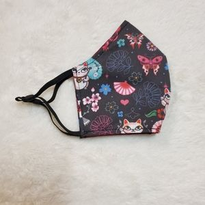 Accessories - NEW homemade face Kitty Fish Dragon Pattern